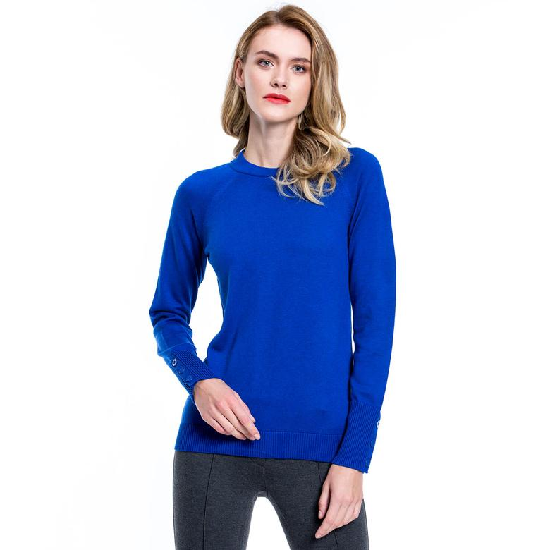 Nautica Kadın Mavi Triko