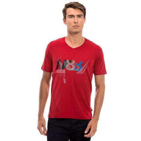 Nautica Erkek Kırmızı T-Shirt