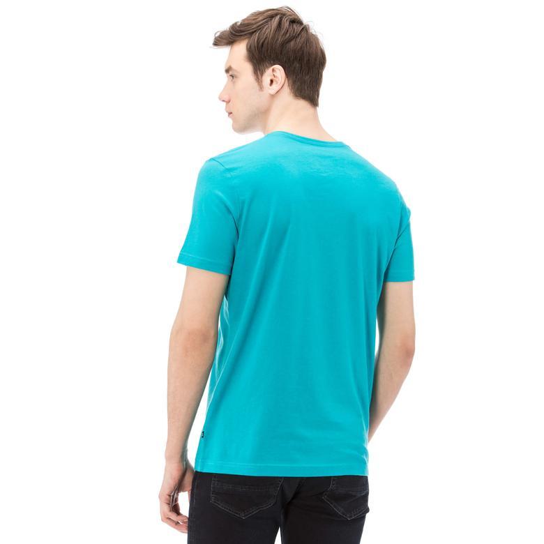 Nautica Erkek Mavi Slim Fit T-Shirt