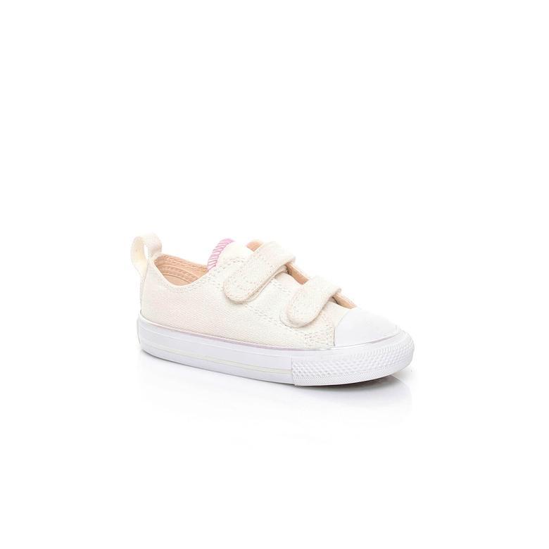 Converse Chuck Taylor All Star 2V Çocuk Bej Sneaker