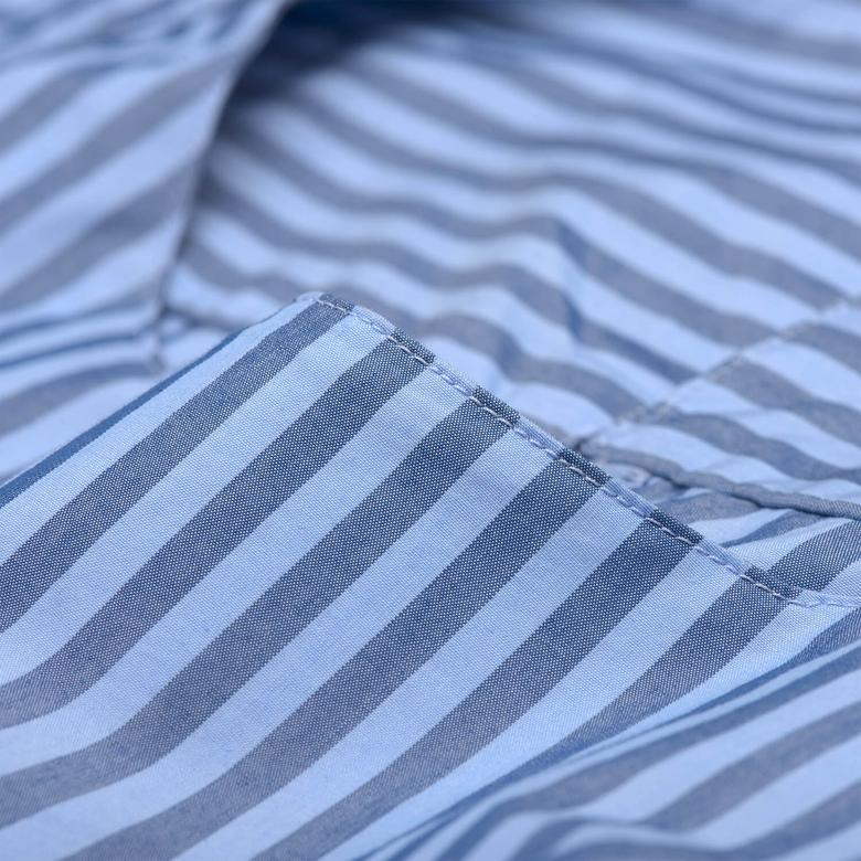 Gant Kadın Lacivert Uzun Kollu Regular Fit Bluz