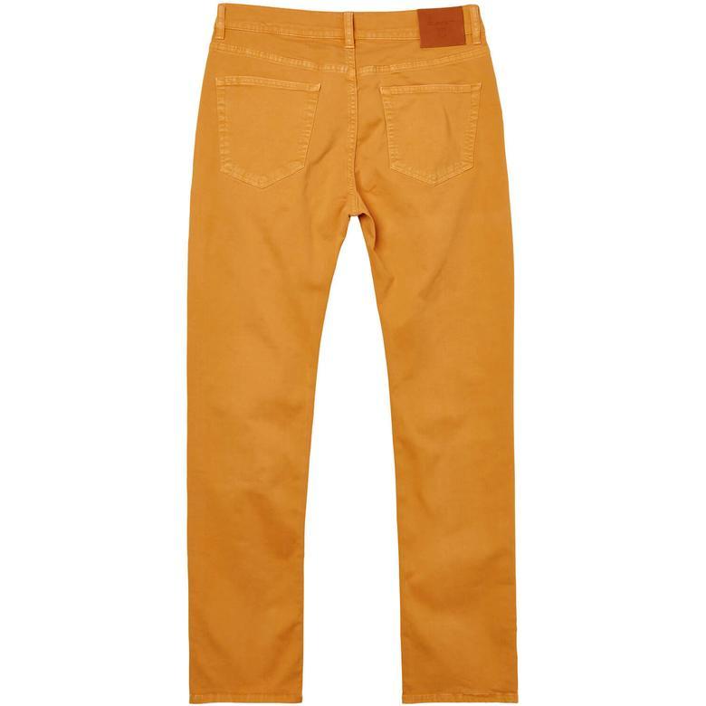 Gant Erkek Turuncu Slim Straight Pantolon