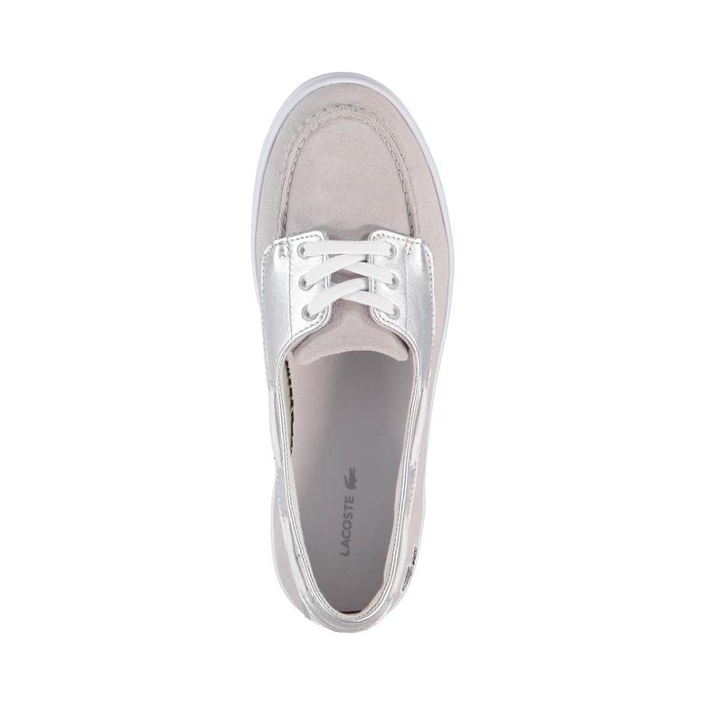 Lacoste Ziane Deck 116 1 Kadın Gri Sneaker