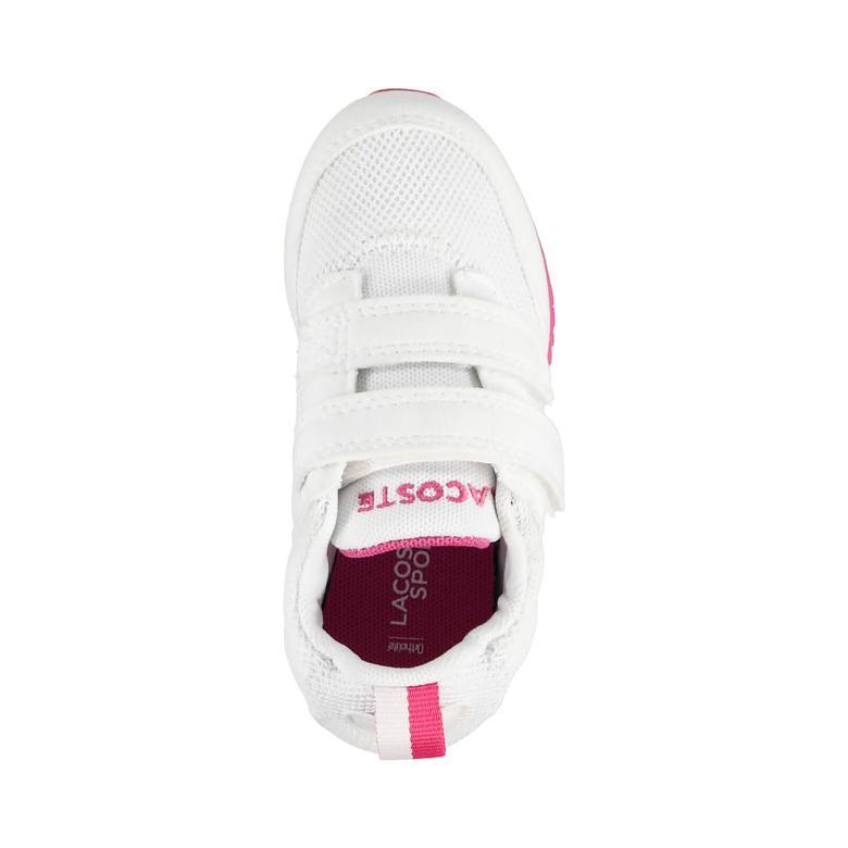 L.Ight 117 1 Çocuk Beyaz Sneakers Ayakkabı