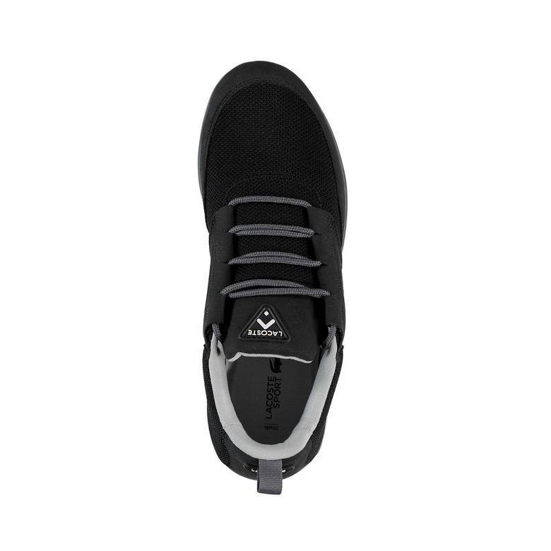 L.Ight 117 1 Erkek Siyah Sneakers Ayakkabı