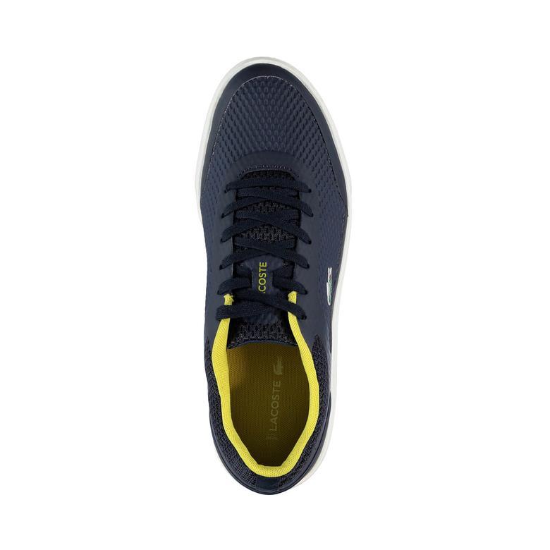 Lacoste Explorateur Sport 317 5 Erkek Lacivert Sneaker
