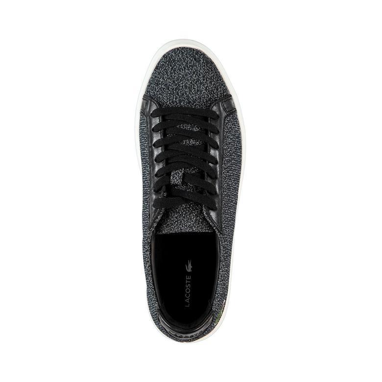 Lacoste L.12.12 317 3 Erkek Siyah Sneaker
