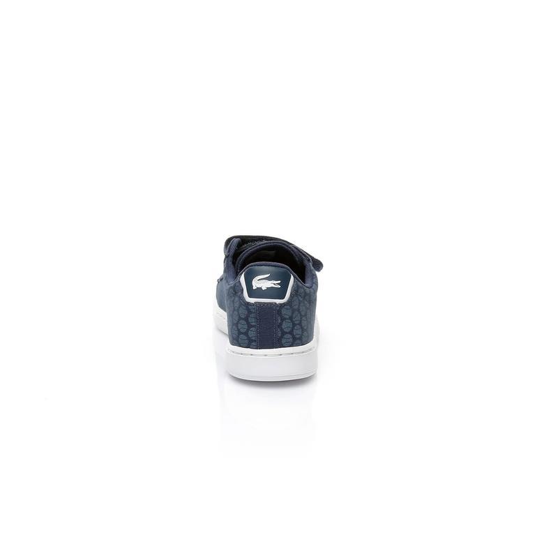 Lacoste Carnaby Evo 317 4 Çocuk Lacivert Sneaker