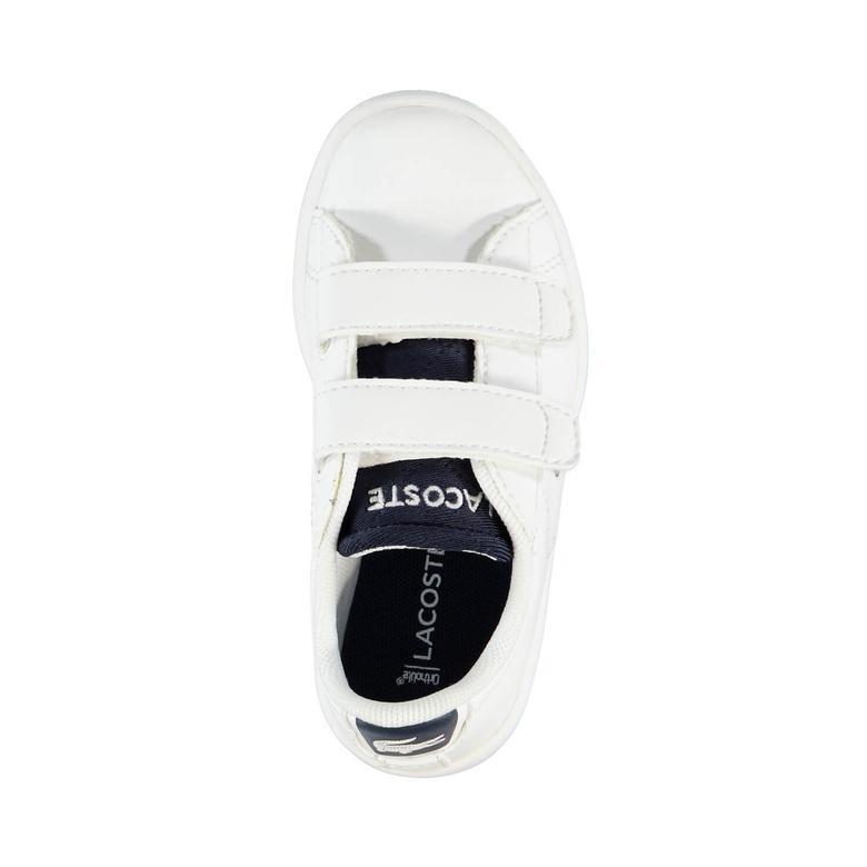 Lacoste Carnaby Evo Çocuk Beyaz Sneaker