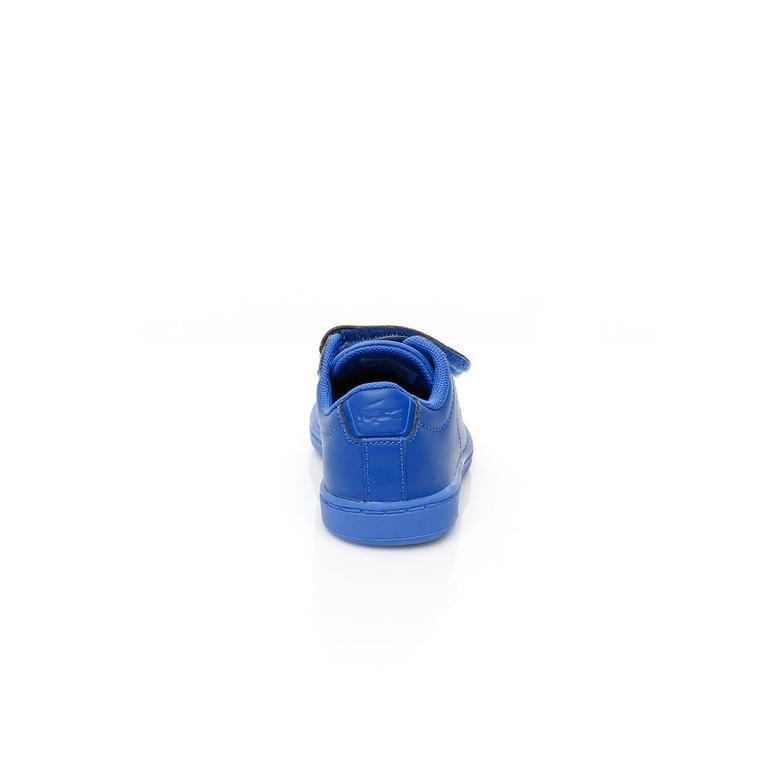 Lacoste Carnaby Evo Çocuk Mavi Sneaker