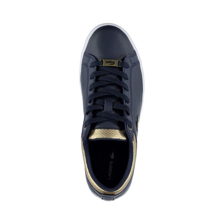 Lacoste Straightset Kadın Lacivert Spor Ayakkabı