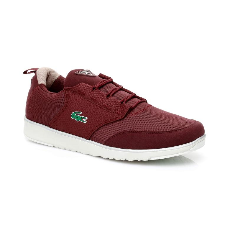 Lacoste Light Erkek Bordo Sneaker
