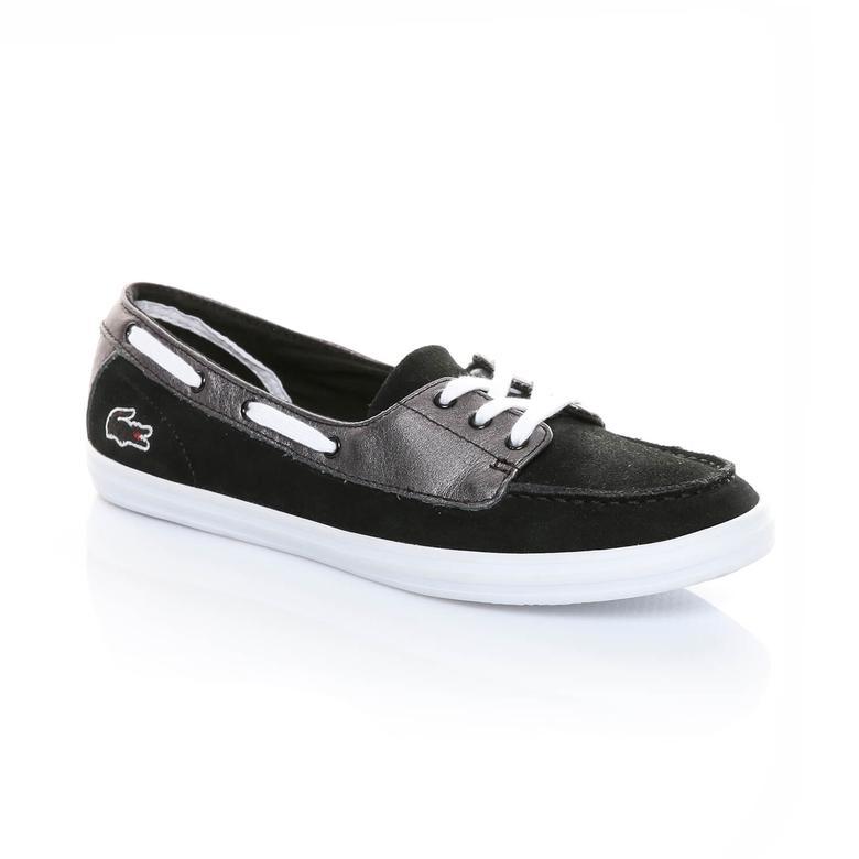 Lacoste Ziane Deck 116 1 Kadın Siyah Sneaker