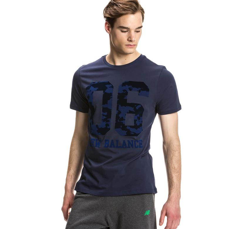 New Balance Erkek Siyah T-Shirt