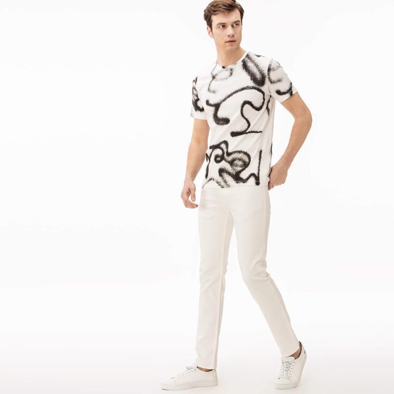 Lacoste Erkek Beyaz Pantolon