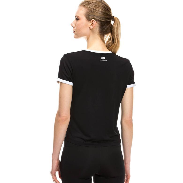 New Balance Kadın Siyah Tshirt