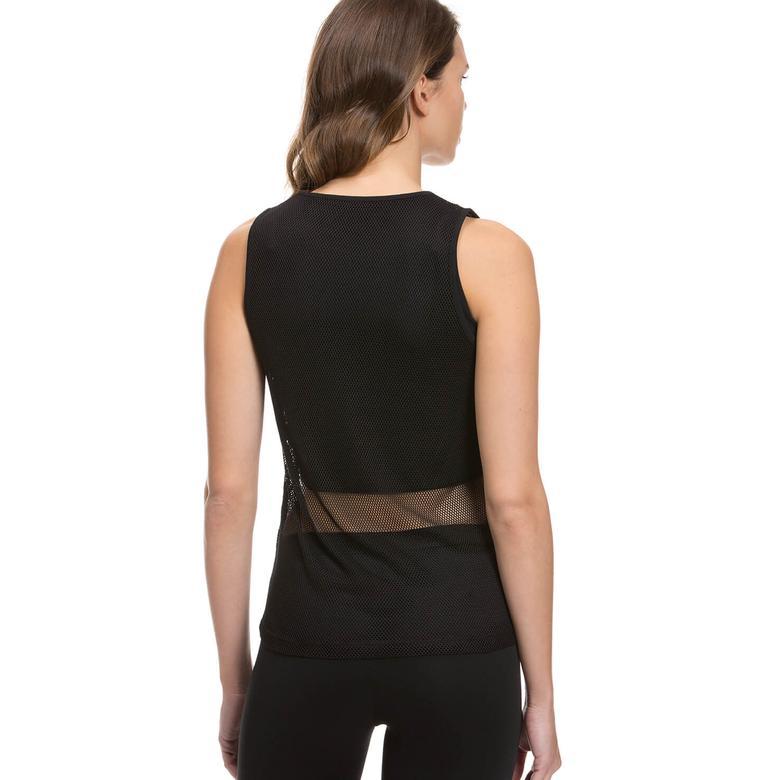 New Balancce Kadıın Siyah File Tshirt