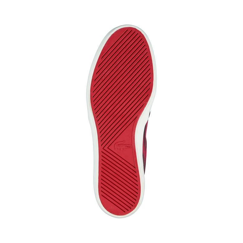 Lacoste Erkek Kırmızı Slip On Ayakkabı