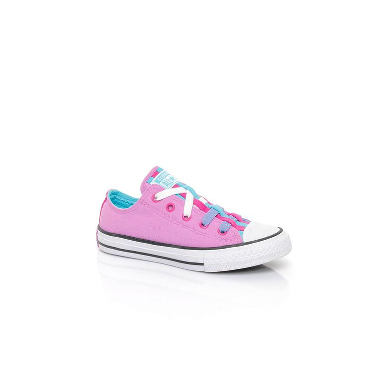 Converse Chuck Taylor All Star Loopholes Çocuk Pembe Sneaker