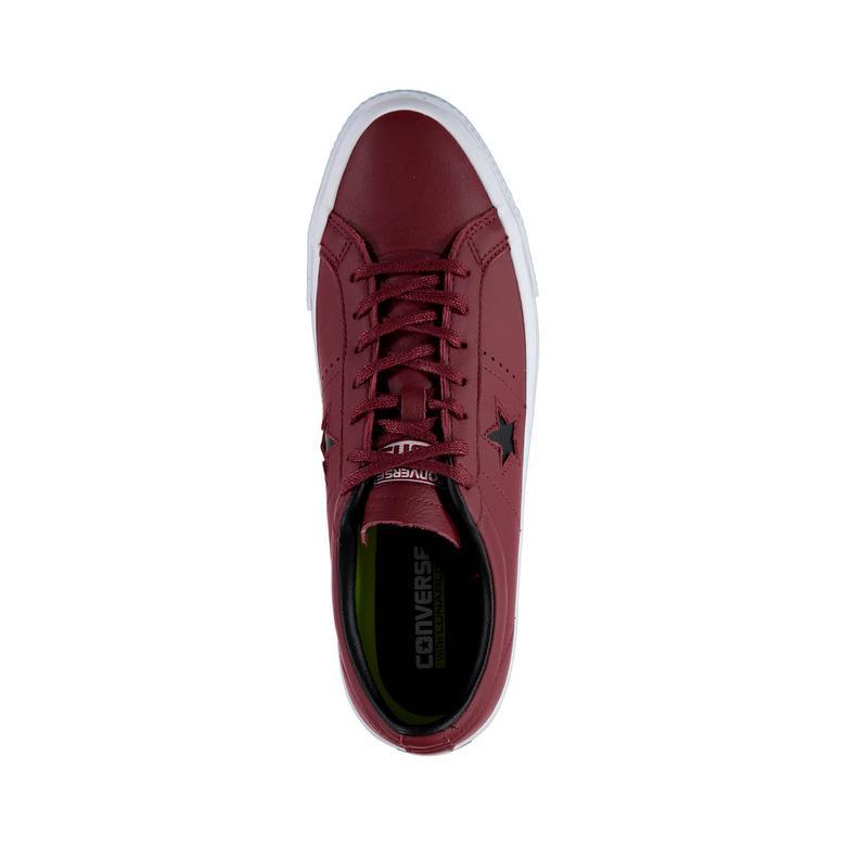 Converse One Star Unisex Bordo Sneaker