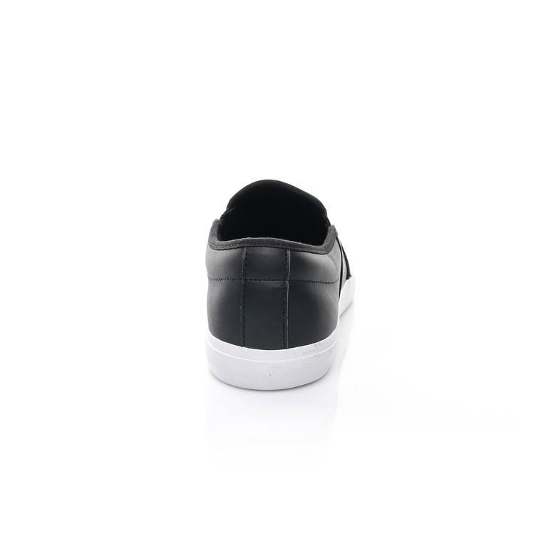 Lacoste Gazon Erkek Siyah Slip-On