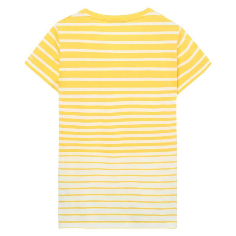 Gant Kadın Sarı Slim Fit Bluz