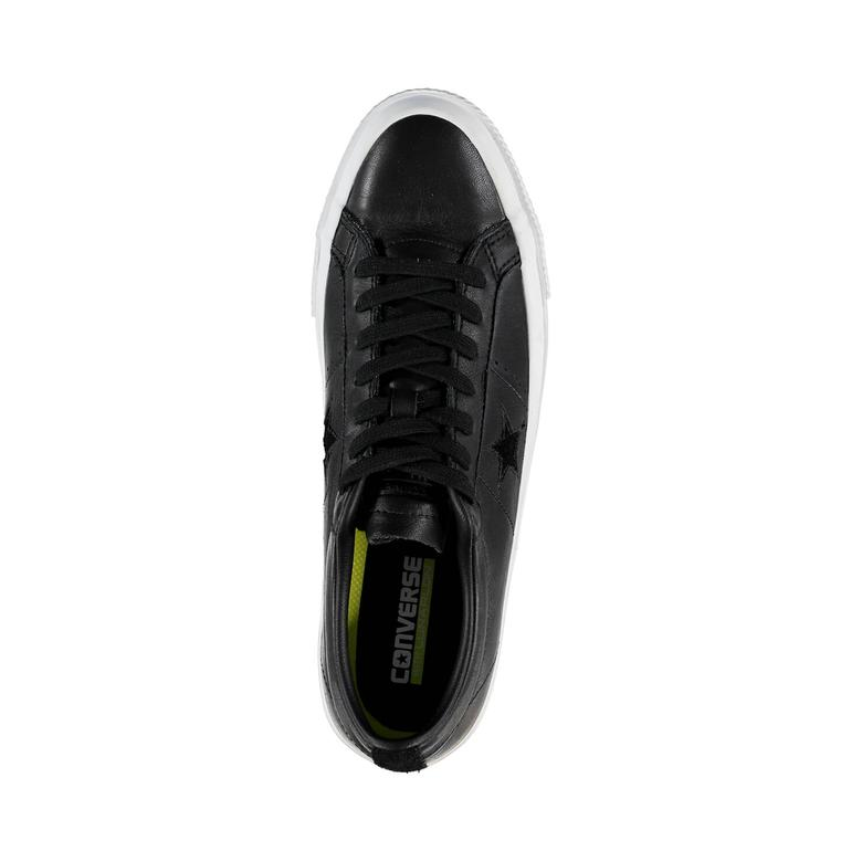 Converse One Star Unisex Siyah Sneaker