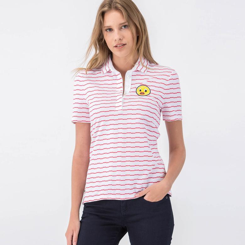 Lacoste Kadın Renkli Kısa Kollu Polo