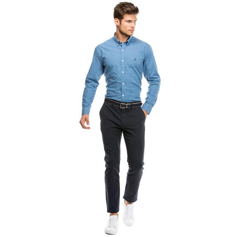 Nautica Erkek Lacivert Regular Fit Pantolon