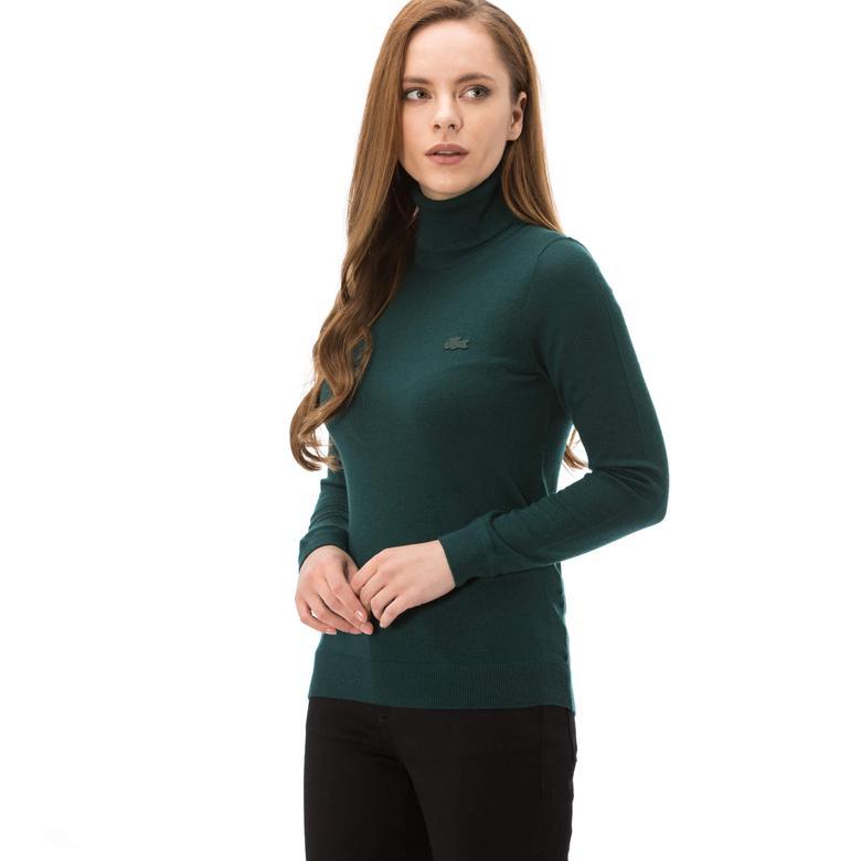 Lacoste Kadın Yeşil Triko