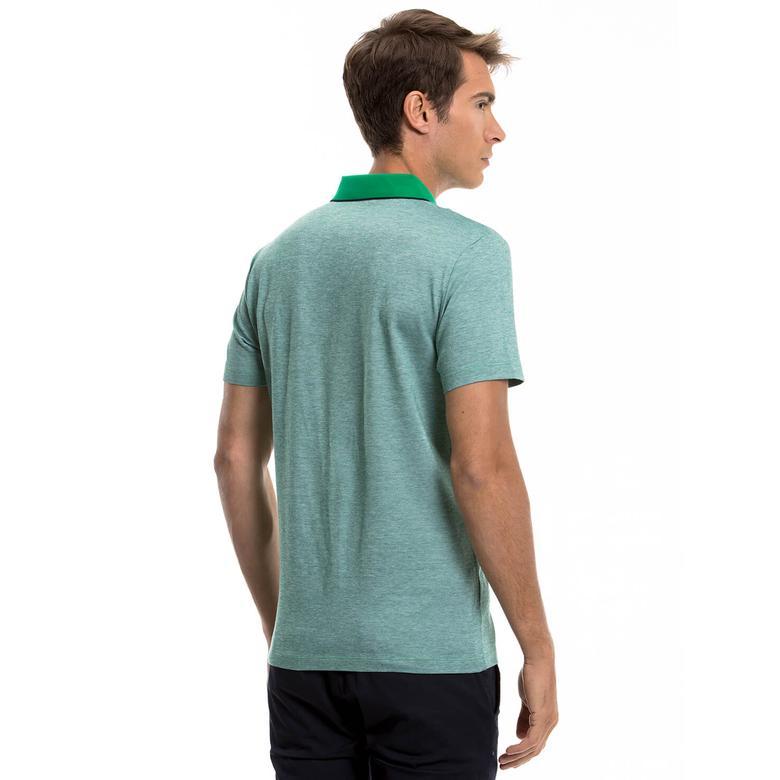 Kısa Kollu Erkek Yeşil Polo