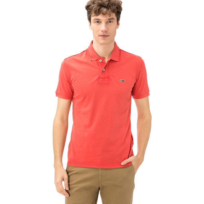 Napapijri Erkek Kırmızı T-Shirt