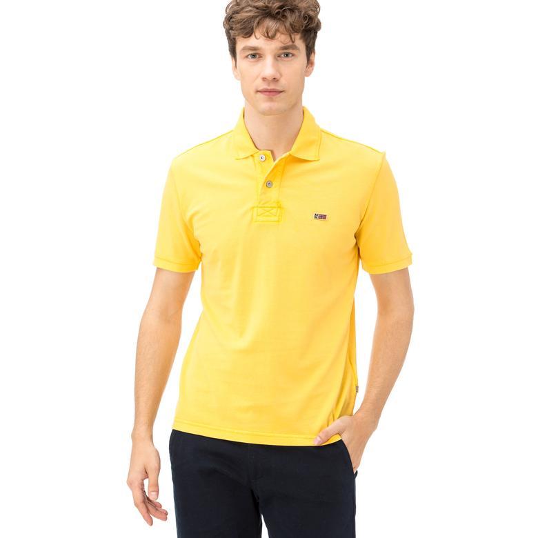 Napapijri Erkek Sarı T-Shirt