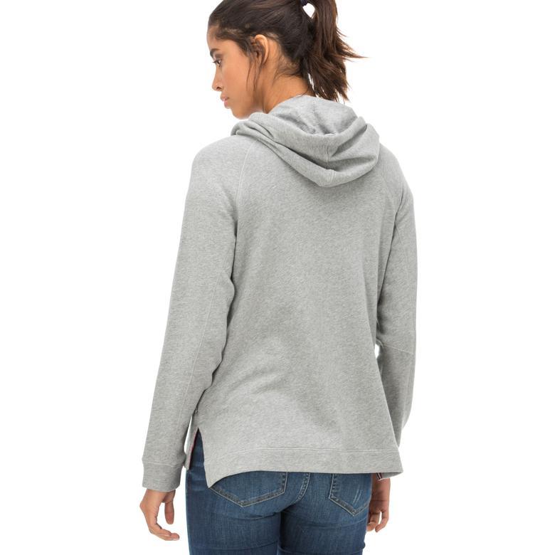 Napapijri Kadın Gri Sweatshirt