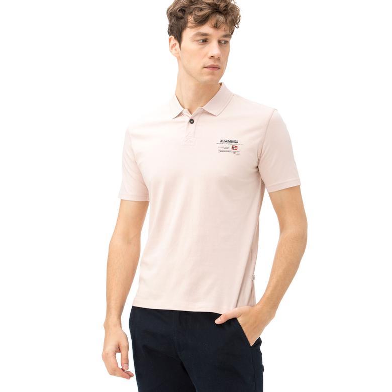Napapijri Erkek Pembe T-Shirt