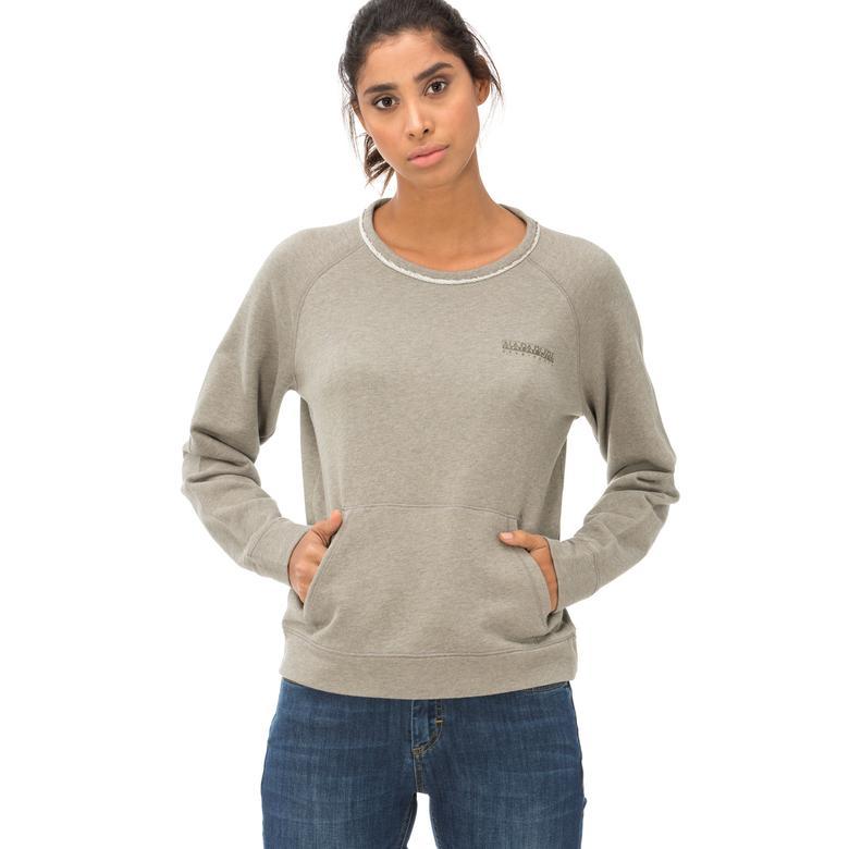 Napapijri Kadın Yeşil Sweatshirt