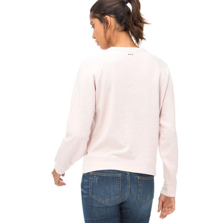 Napapijri Kadın Pembe Sweatshirt