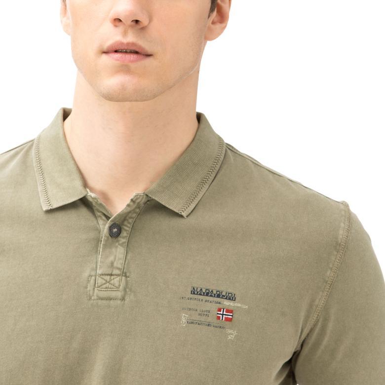 Napapijri Erkek Yeşil T-Shirt