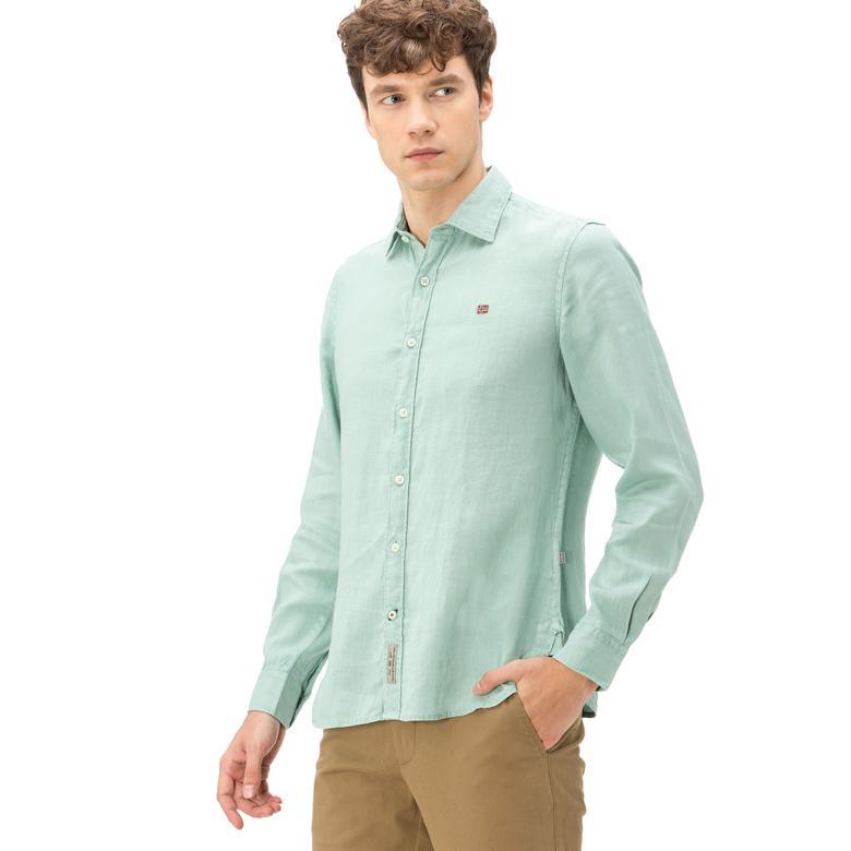 Napapijri Erkek Yeşil Gömlek