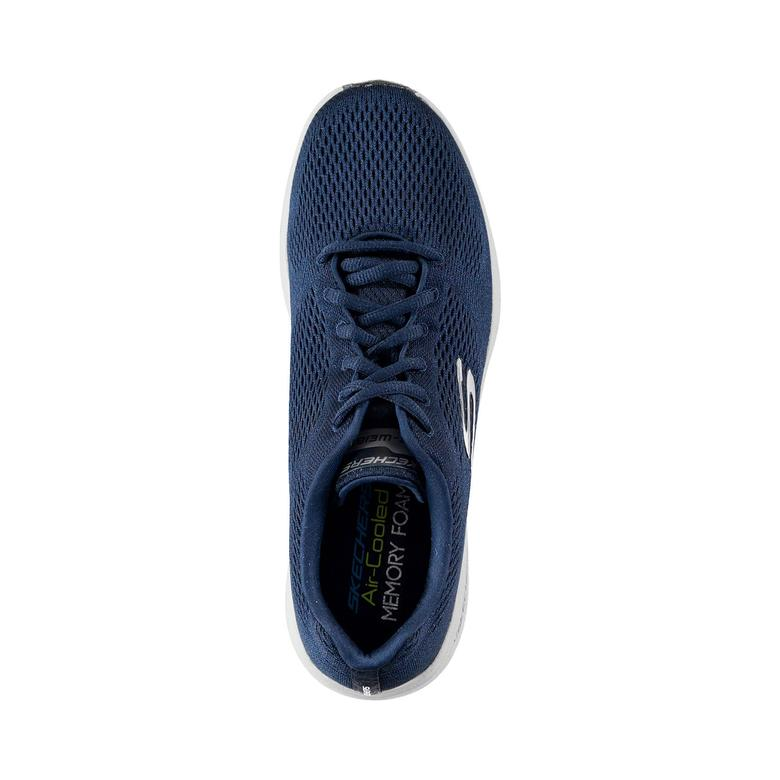 Skechers Burst 2.0- Out Of Range Erkek Lacivert-Gri Spor Ayakkabı