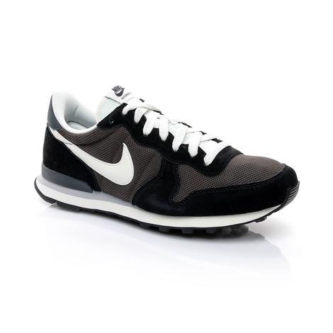 Nike Internationalist Erkek Siyah Sneaker Ayakkabı