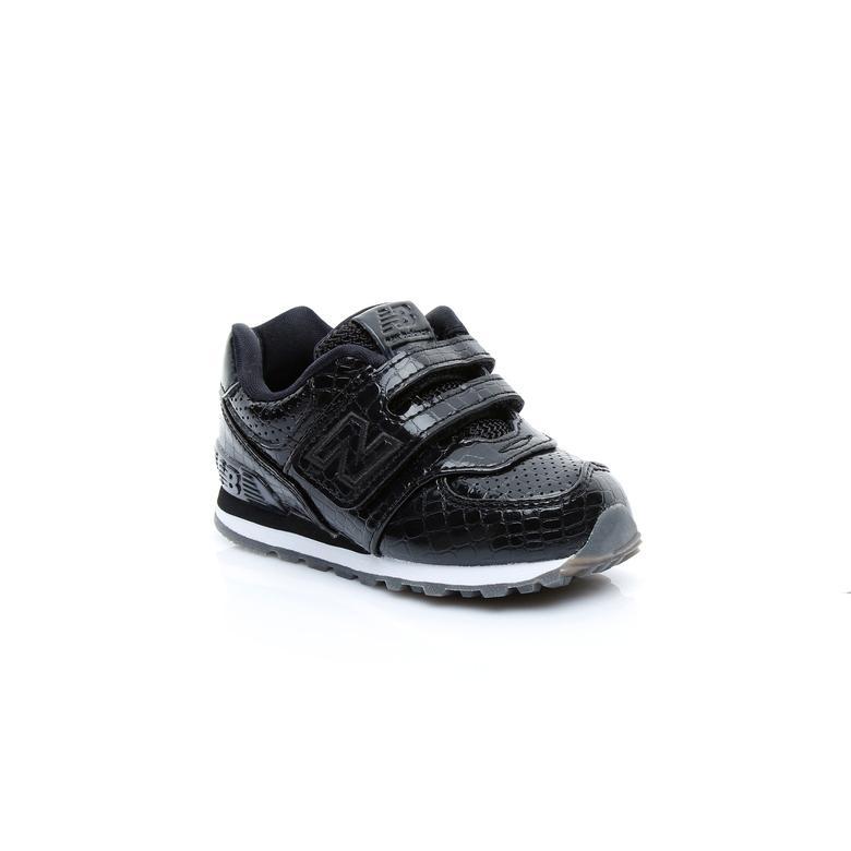 New Balance 574 Çocuk Siyah Sneaker