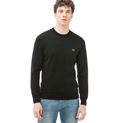 Lacoste Erkek Siyah Sweatshirt