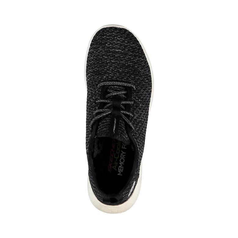 Skechers Burst-City Scene Kadın Siyah Sneaker