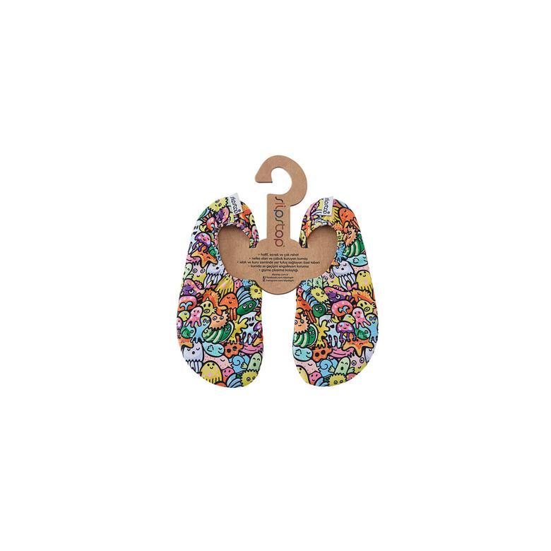 Slipstop Slime  Çocuk Renkli Havuz Ayakkabısı
