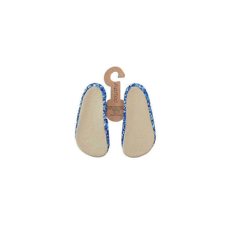 Slipstop Shell Junior Mavi Çocuk Havuz Ayakkabısı