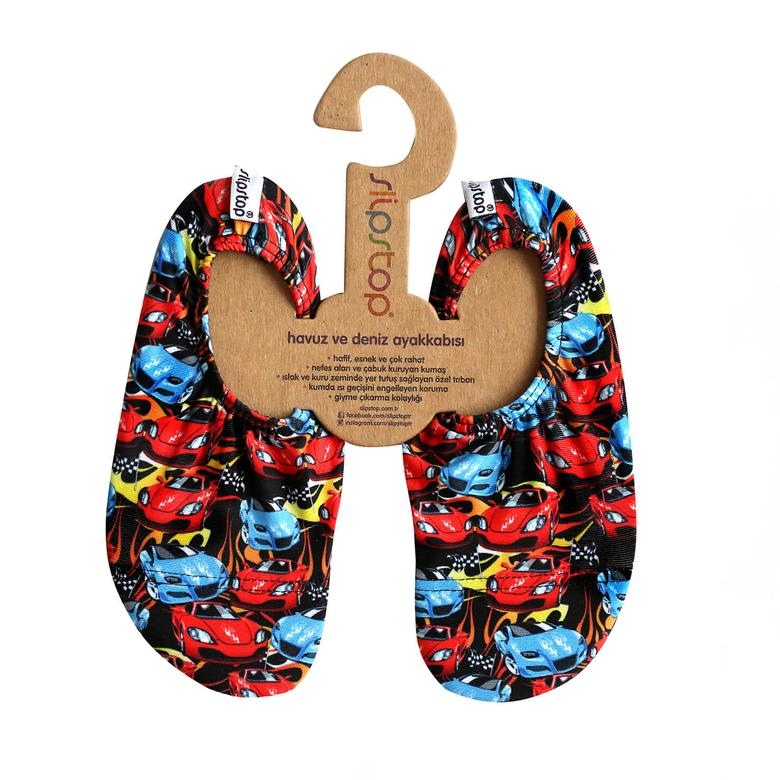 Slipstop Racing Renkli Çocuk Havuz Ayakkabısı