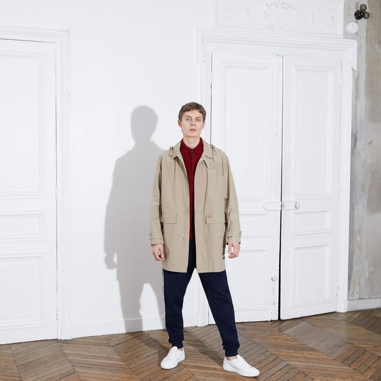 Lacoste Erkek Regular Fit Bordo Paris Polo