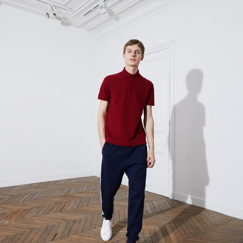 Lacoste Erkek Regular Fit Bordo Paris Polo