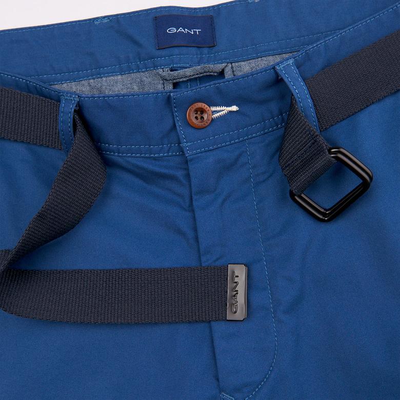 Gant Relaxed Tech Prep Belted Utility Shorts Erkek Mavi Şort